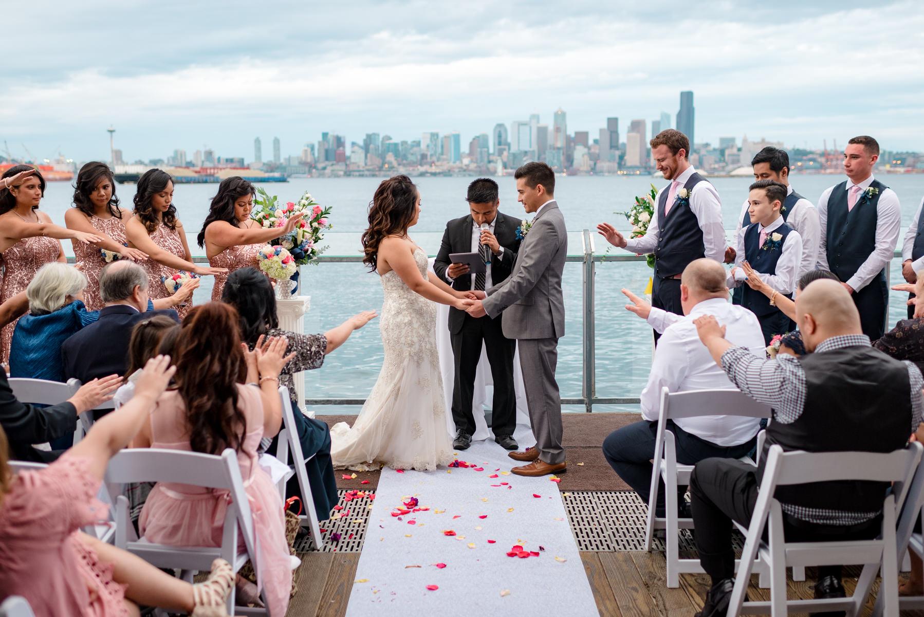 Andrew Tat - Documentary Wedding Photography - Salty's - Seattle, Washington -Mark & Marcy - 15.jpg