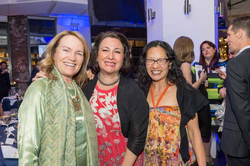Susan Gosin, Judy Hecker, Mina Takahashi