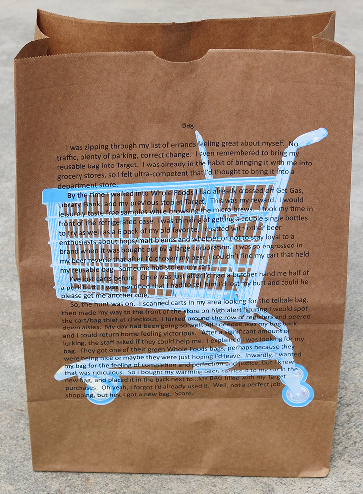 """Copy of Elizabeth Bennett, """"Bag from the series Grocery Stories"""""""