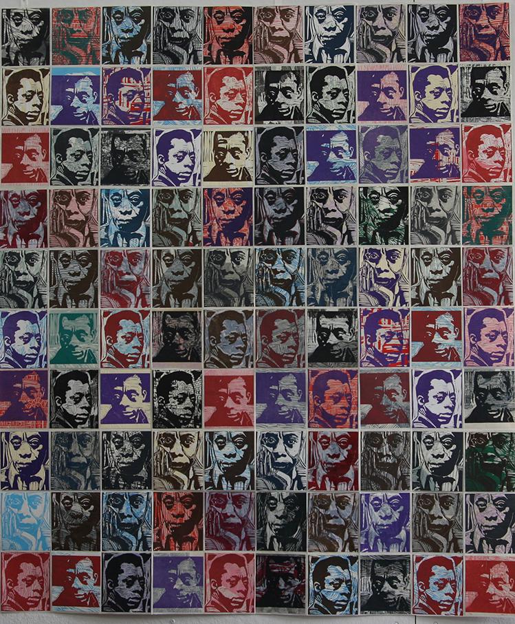 "Copy of Luciana Maiorana, ""100 James Baldwins"""