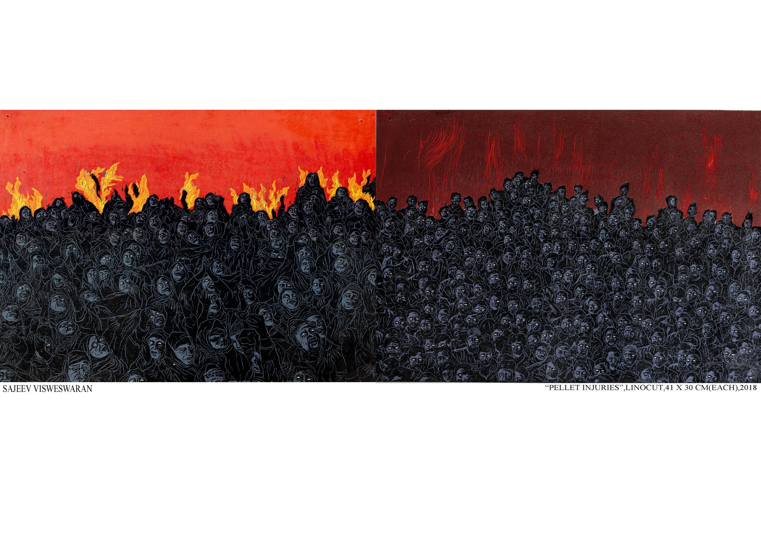 """Copy of Sajeev Vadakoottu,  """"Pellet Injuries"""""""