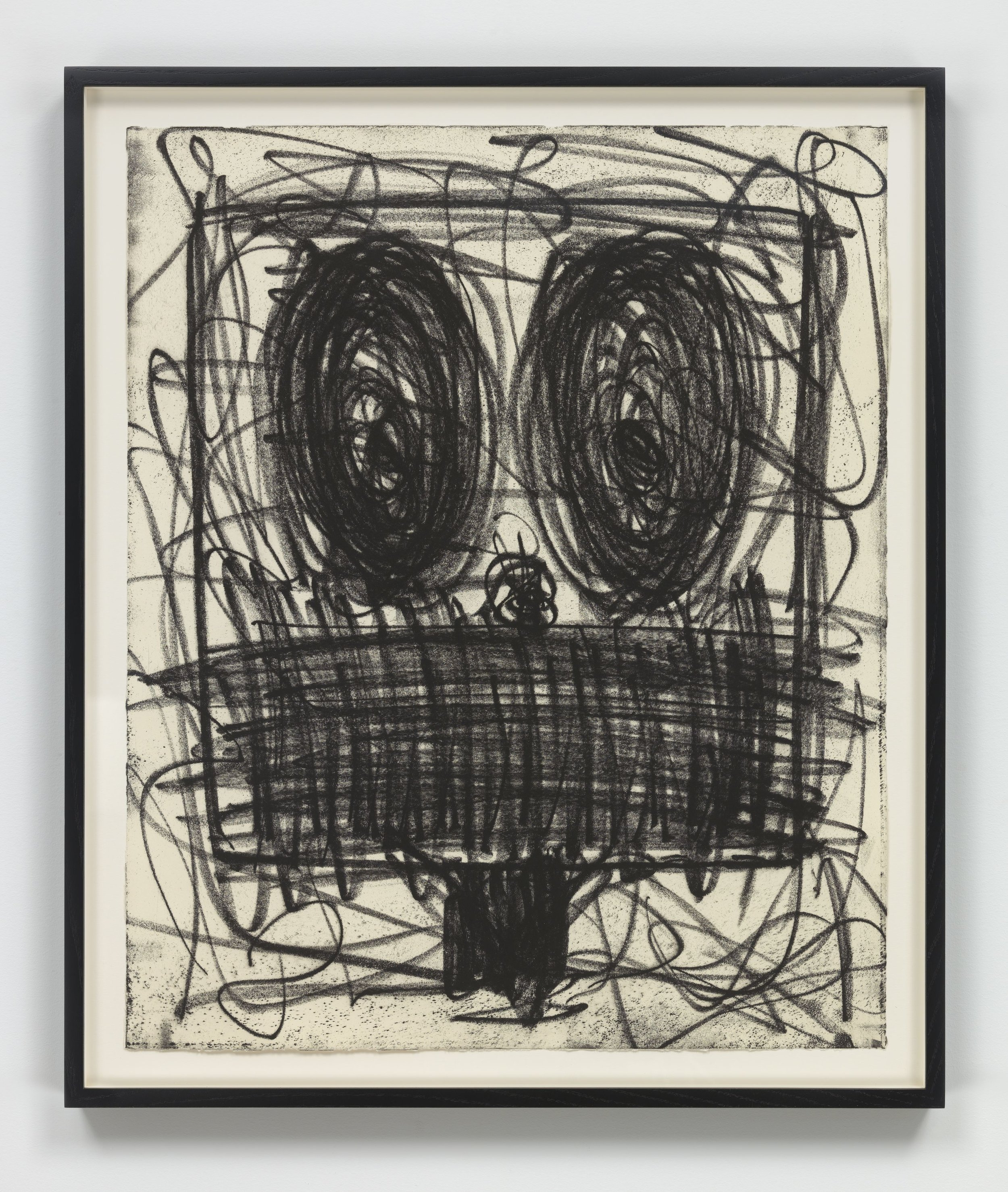 Rashid Johnson   Untitled (Anxious Man) , 2018 Softground etching Sheet: 23 3/4 x 19 3/4 inches Printed by Jennifer Melby; published by Hauser & Wirth Editions, New York Edition: 35 Courtesy of the artist and Hauser & Wirth