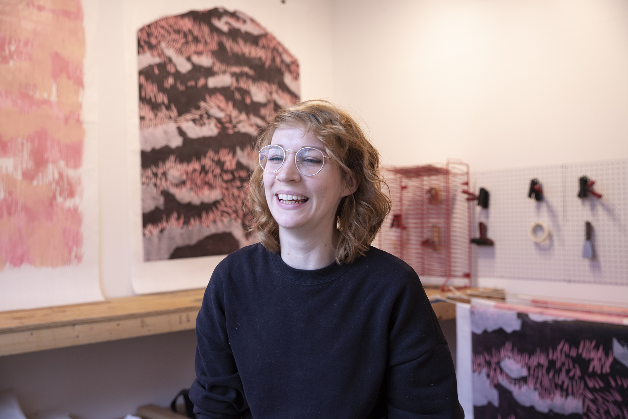 Allison Conley - 2019/Winter Artist-in-Residence in IPCNY's workshop