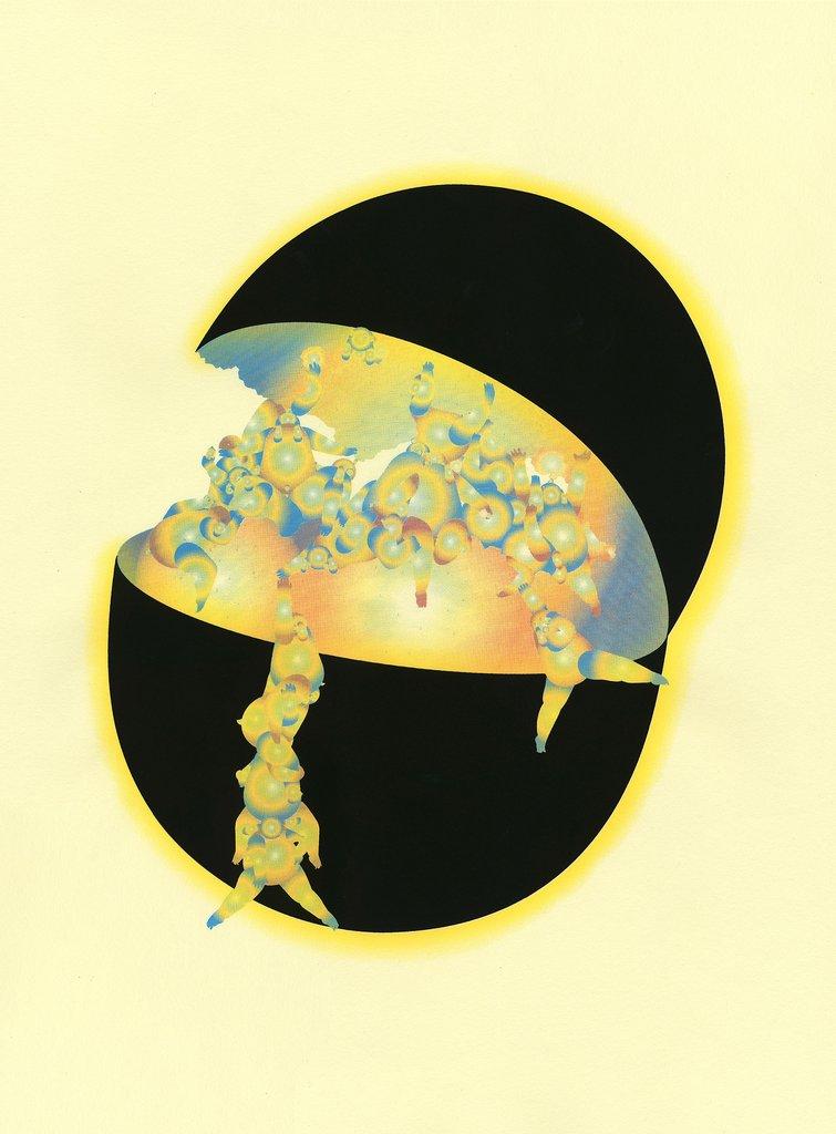 Qiaoyi Shi ,  Dark Melon , 2018.