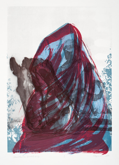 Robynn Smith   Charlottesville:Shrouded #12 ,   2018 Screenprint Sheet: 42 x 30 inches Printed by the artist; published by The W.O.R.K.S, Vallejo, CA Edition: 13, variable Courtesy of the artist