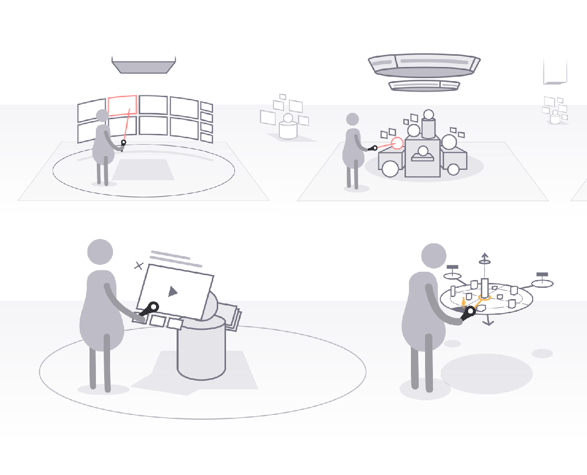 """Interaction concept """"wireframes"""""""