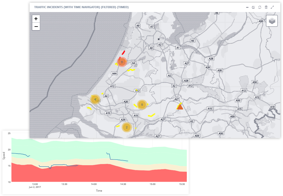 Incident Detection - AI solution to detect traffic incidents and congestion early for quick and effective responseHow it is usedOperational and dynamic controlPublic informationData streamsLoop sensor, floating car data, incident data, video