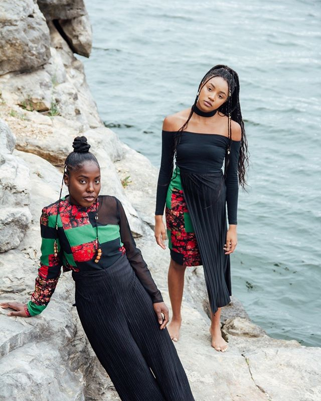 """You Wear Culture"" ft. @___blackbeauty231, @kamryntatiyana⠀⠀⠀⠀⠀⠀⠀⠀⠀ captured by @amanidionne // styling @darianyounce⠀⠀⠀⠀⠀⠀⠀⠀⠀ ⠀⠀⠀⠀⠀⠀⠀⠀⠀ Full lookbook coming soon to shopshusi.com"