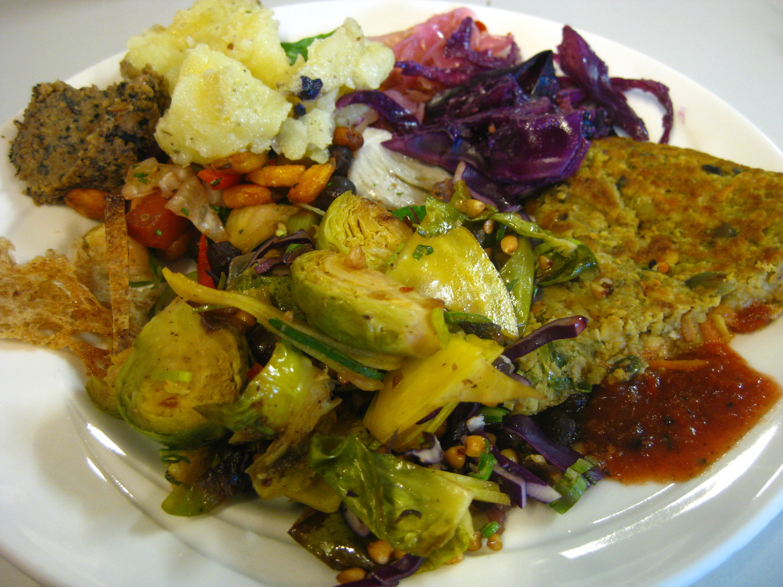 A vegan lunch for systems thinking day