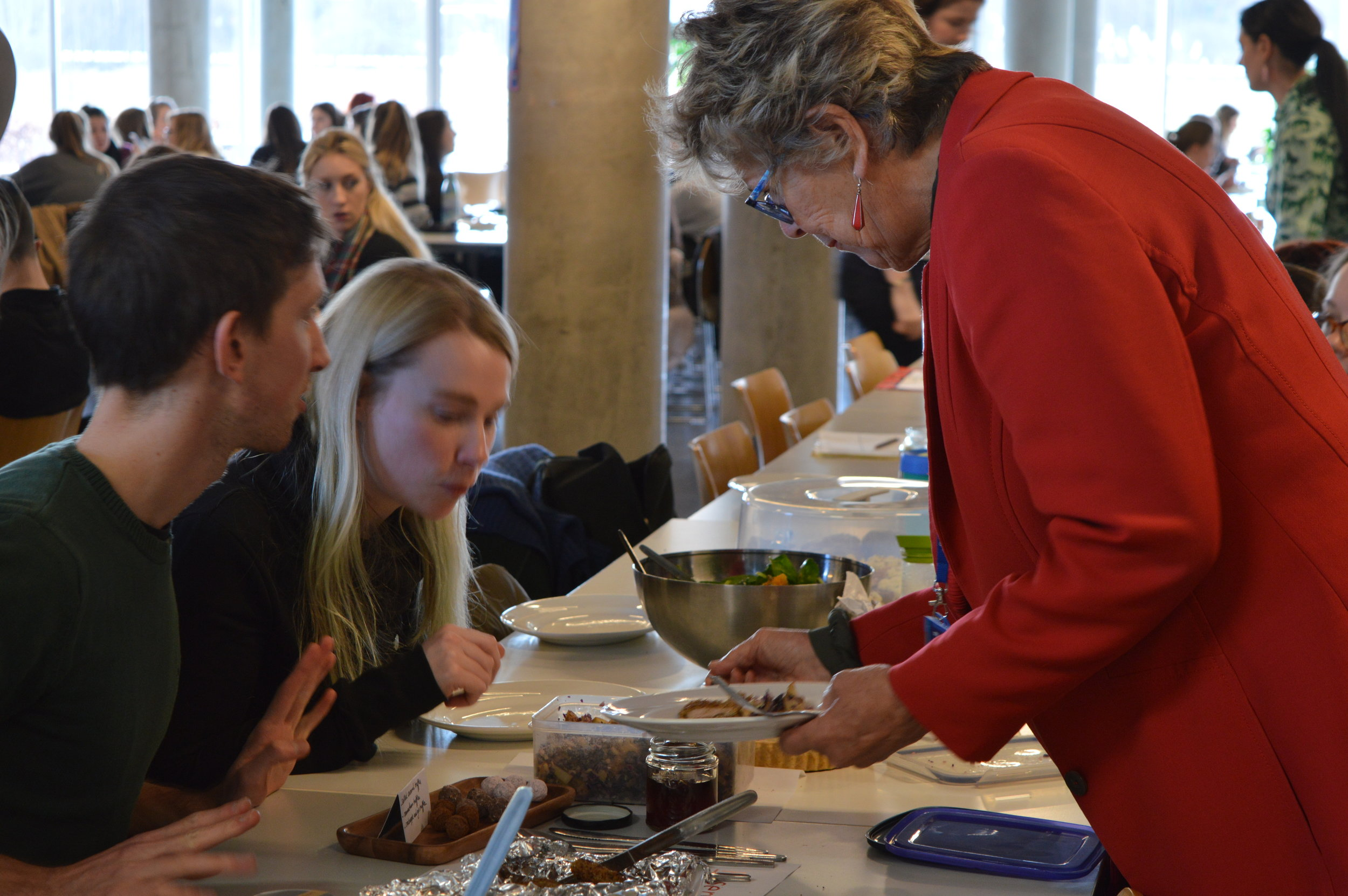 Lunch with Prue Leith