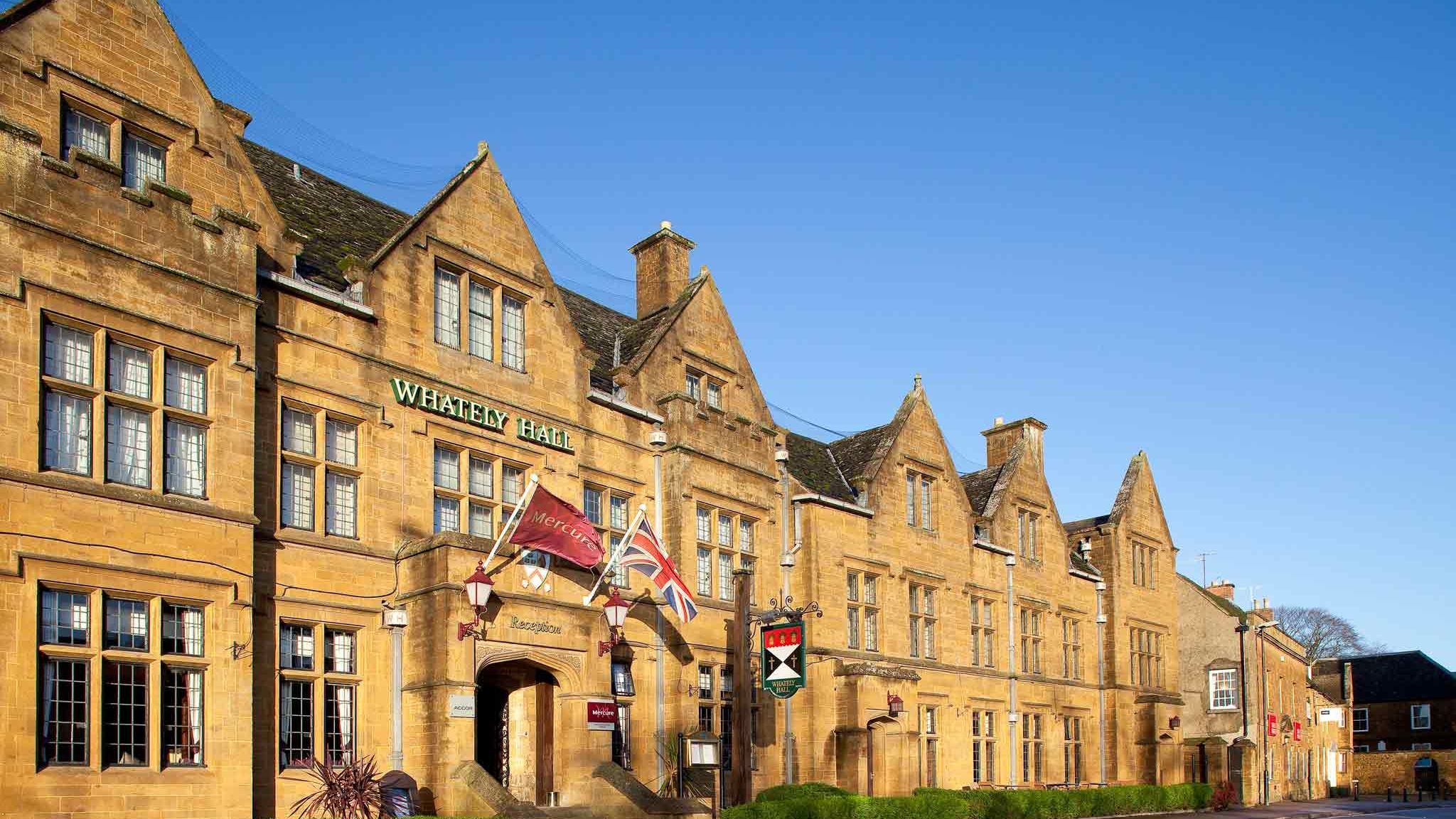 Whately Hall Hotel Banbury - 23rd December 2019 4nts CHRISTMAS BRIDGE HOLIDAY
