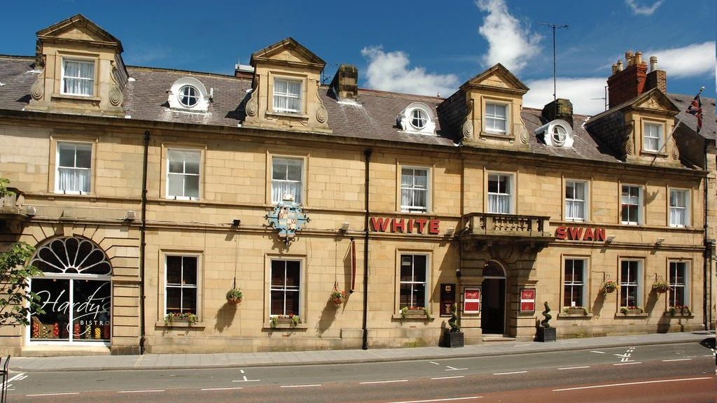 The White swan hotel - Alnwick Northumberland