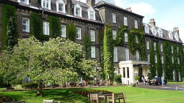 The old swan hotel harrogate - 26th July 2020 4nts