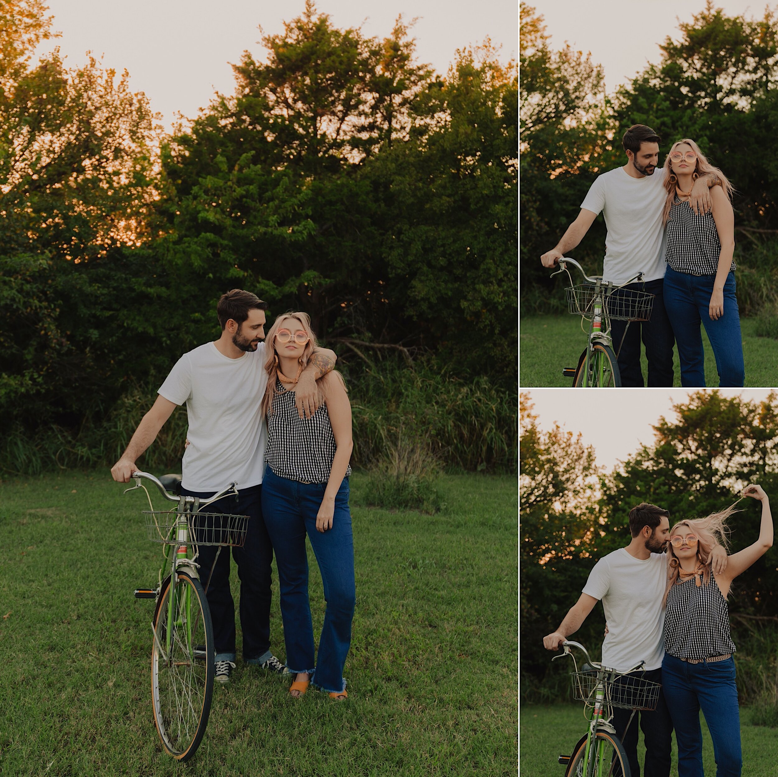 70's picnic couple session, 70s Picnic for Couple Session