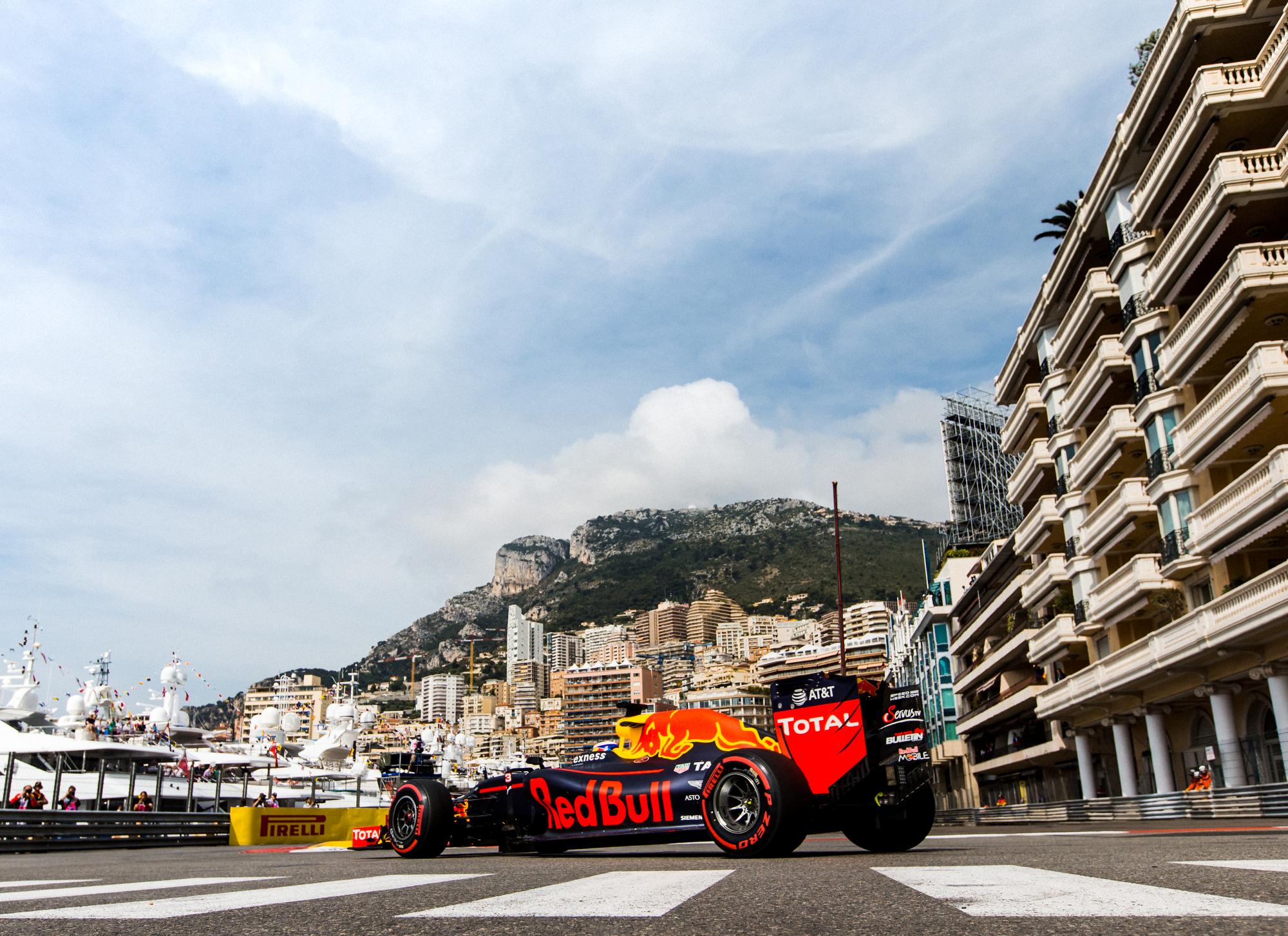 Daniel Ricciardo, Red Bull. 2016 FIA Formula 1 Championship, Monte Carlo, Monaco.