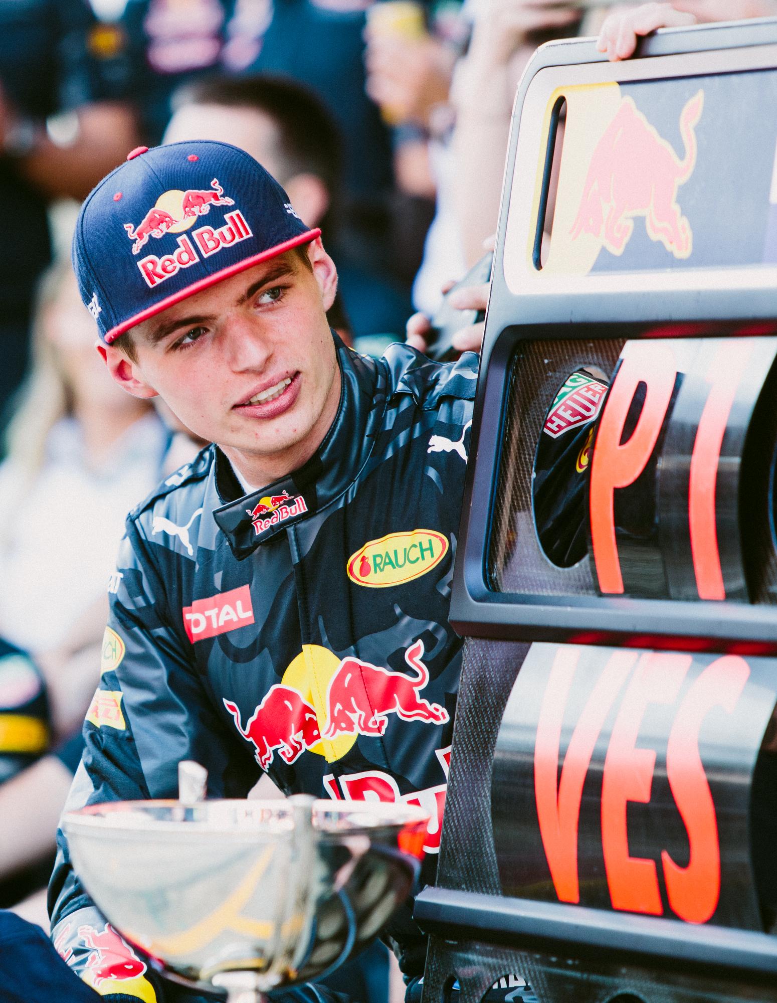 Max Verstappen, Red Bull. 2016 FIA Formula 1 Championship, Barcelona, Spain.