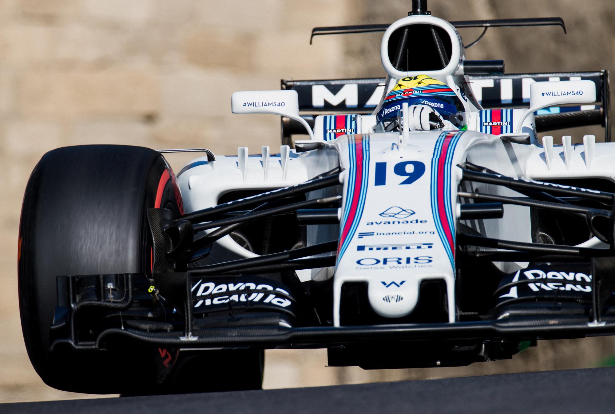 Felipe Massa, Williams. 2017 FIA Formula 1 Championship, Baku, Azerbaijan.