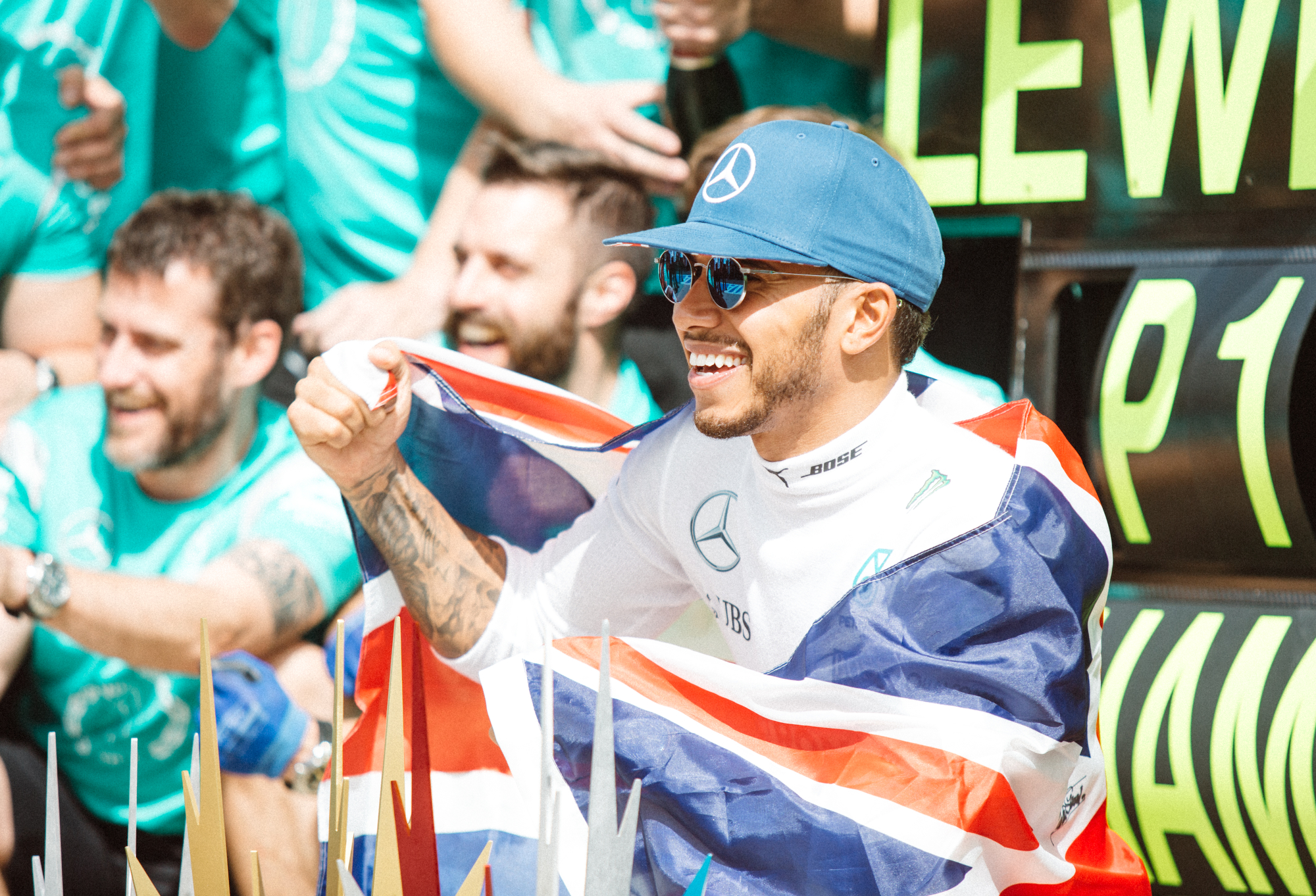 Lewis Hamilton, Mercedes. 2016 FIA Formula 1 Championship, Silverstone, UK.