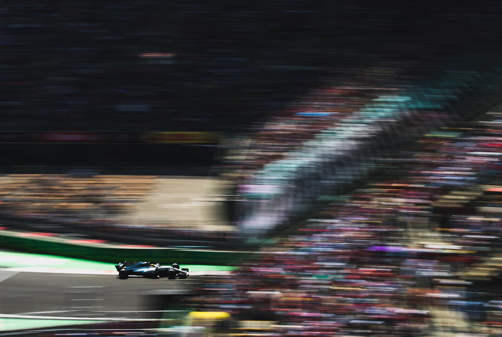 Lewis Hamilton, Mercedes. 2017 FIA Formula 1 Championship, Mexico City, Mexico.