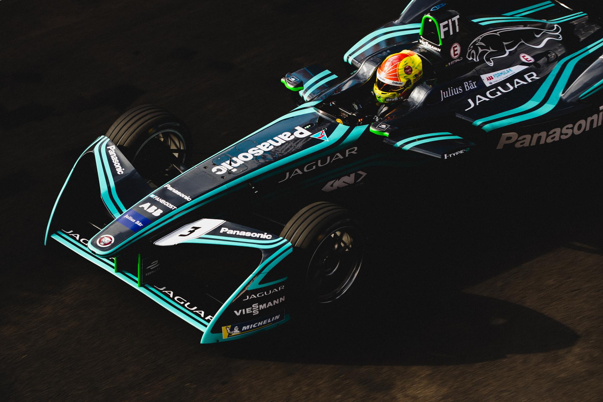Pietro Fittipaldi, Jaguar Racing. 2017/18 FIA Formula E Championship, Marrakech, Morocco, Africa.
