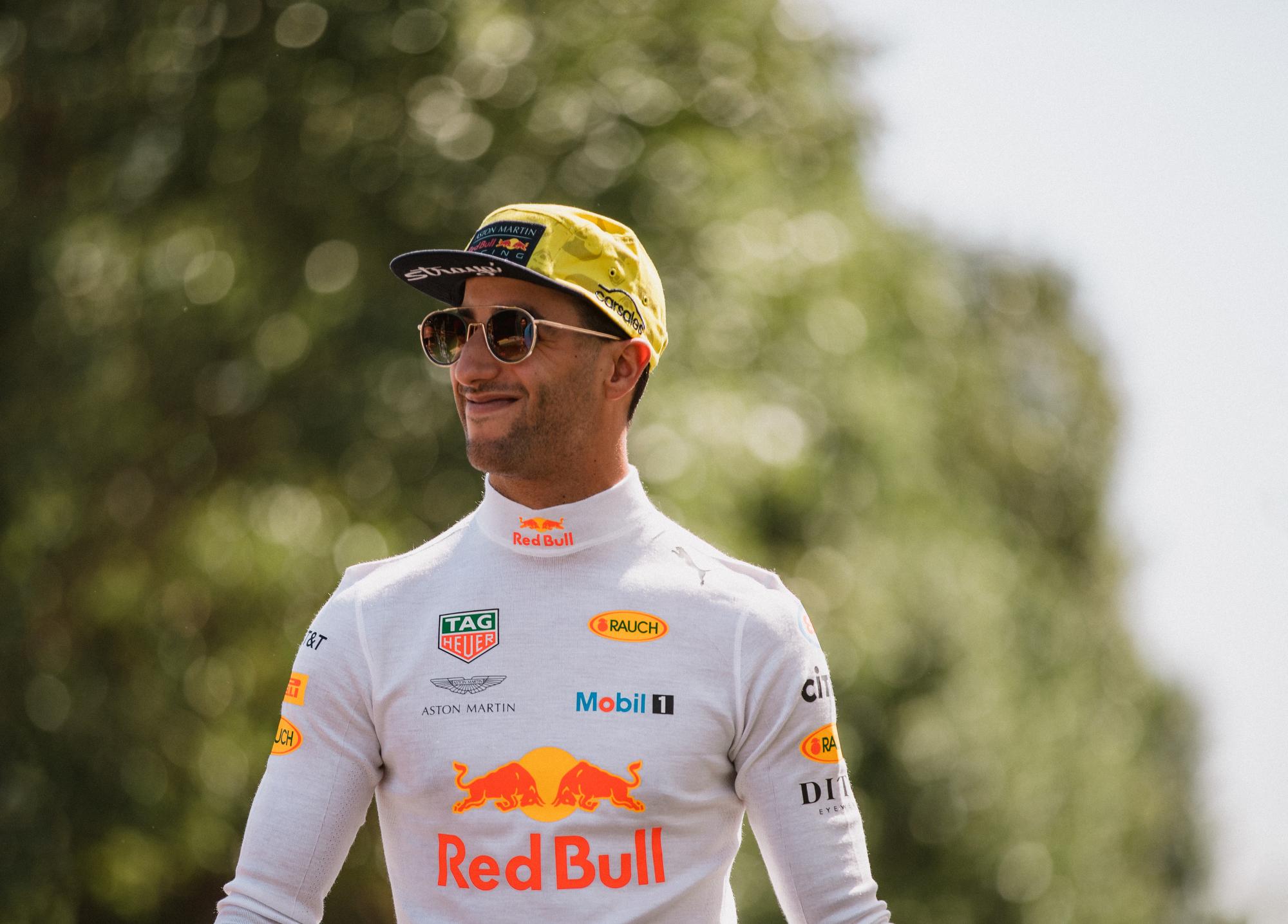 Daniel Ricciardo, Red Bull. 2018 FIA Formula 1 Championship, Albert Park, Melbourne, Victoria, Australia.