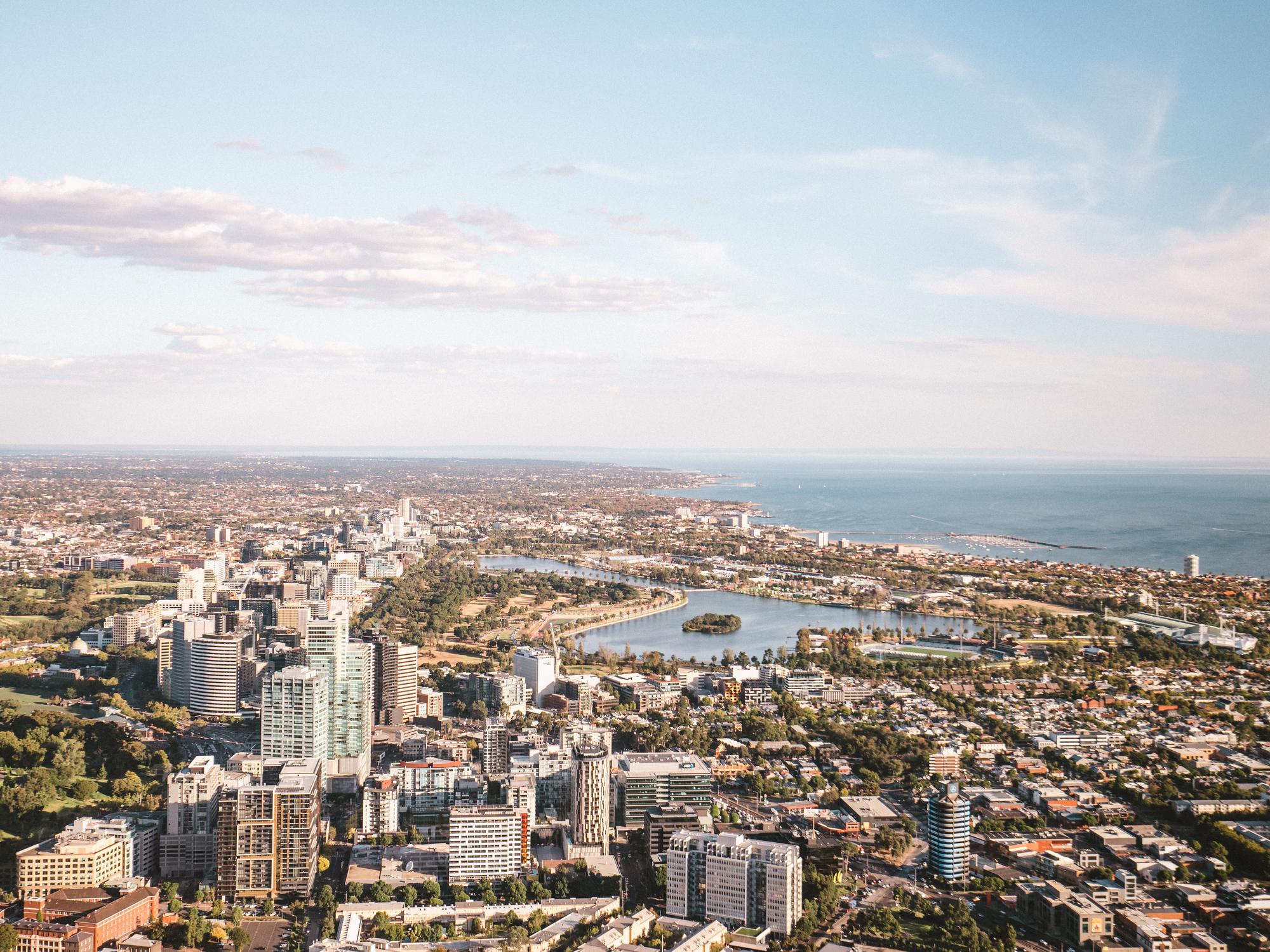 Albert Park, Melbourne, Victoria, Australia.