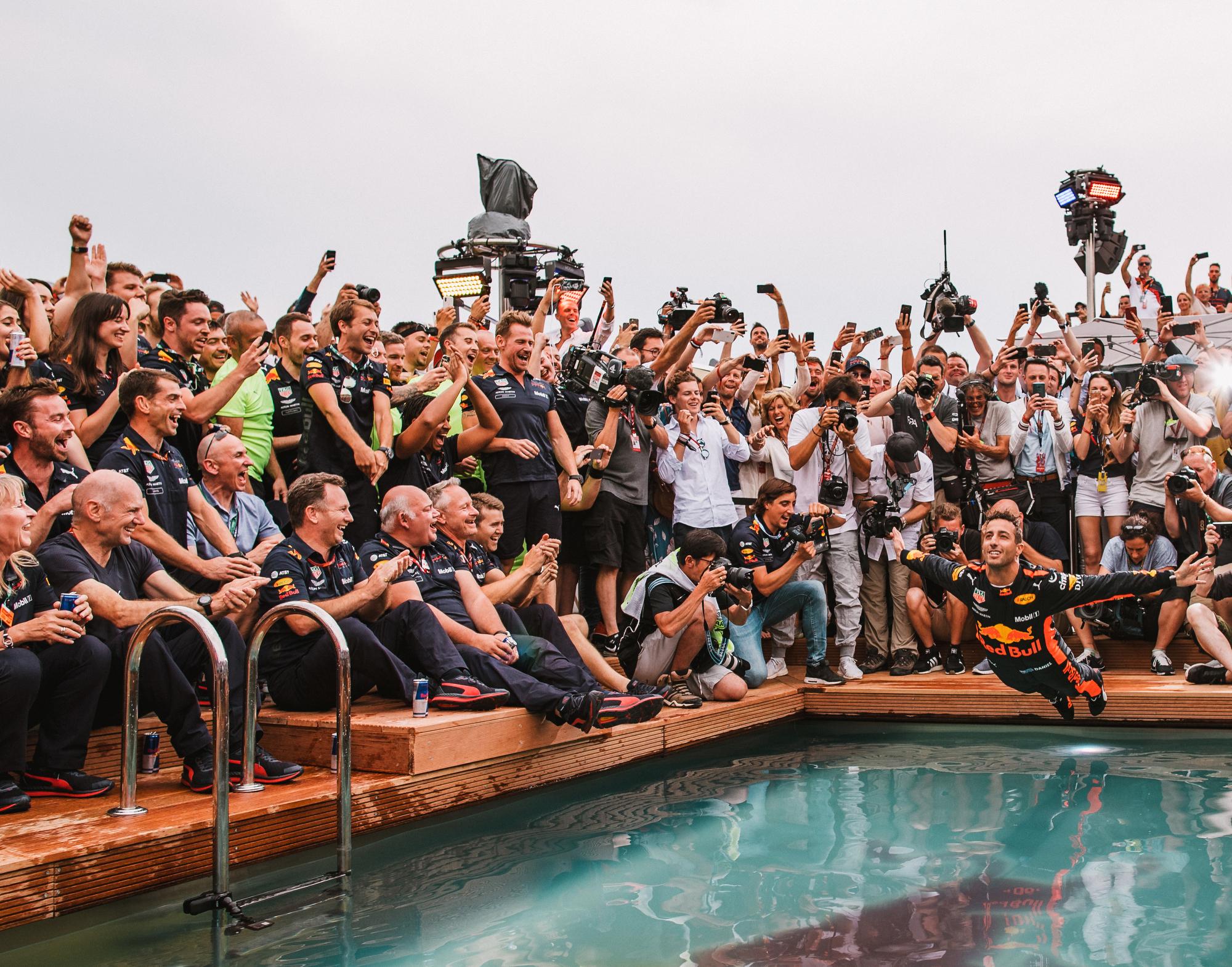 Daniel Ricciardo, Red Bull. 2018 FIA Formula 1 Championship, Monte Carlo, Monaco.