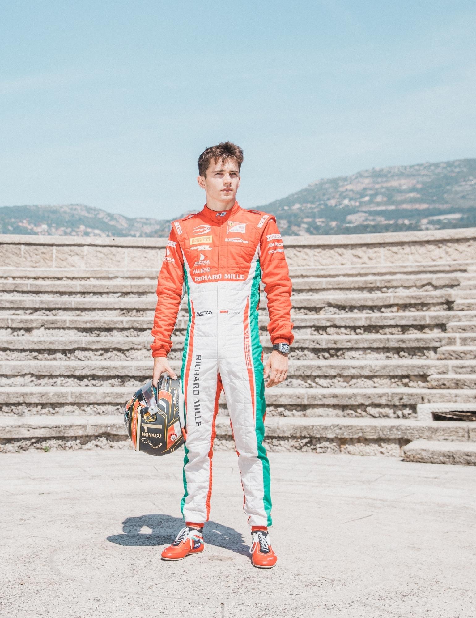 Charles Leclerc, Prema Racing. 2017 FIA Formula 2 Championship, Monte Carlo, Monaco.