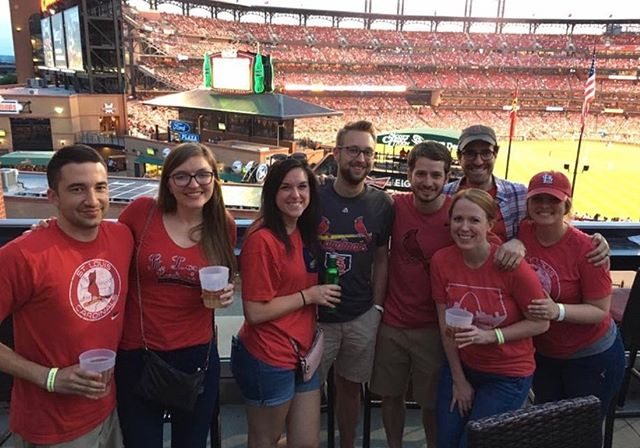 Major Covo STL perk: proximity to Busch Stadium ⚾ #TeamOuting #WayBackWednesday . . . #innovation #energy #covoSTL #coworking #events #STL #Startup #Entrepreneurship #Innovators #Amenities #stlouis #stlouisgram #office #covo #hellocovo #covodays #entrepreneurlife #stlouisgram #explorestlouis #worklifebalanced #gocards #stlcards #stlcardinals