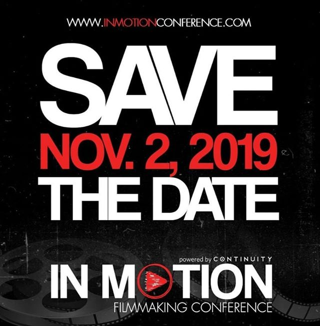 Save the Date! On November 2nd, we're hosting St. Louis' Premier Filmmaking Conference: In Motion, powered by Continuity STL [@continuitystl]. Stay tuned for more info about this all-day conference featuring 200 Filmmakers, 25+ Speakers and a Pitch Competition. 🎬 . . . Tap the link in our bio for more info.  @inmotionconference Sponsored By: @brutonstroube @explorestlouis @cinema_stlouis @shockcitystudios @covostl MOMMA & Missouri Film Office // #inmotionconference19 #midwestfilmmaker #indiefilm #indiefilmmaker #brutonstroube #explorestlouisfilm #shockcitystudios #momma #missourifilmoffice #cinemastlouis #downtownstl