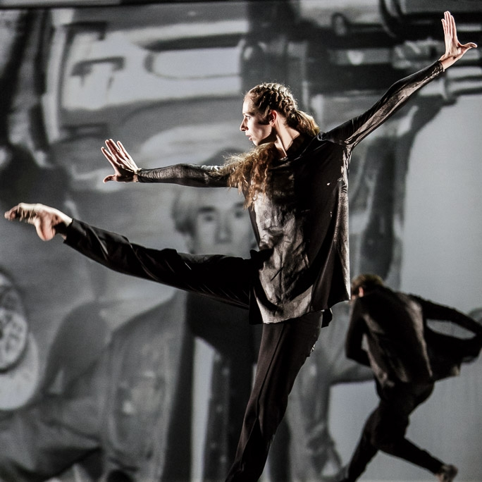 Interview: The Warhol Project, performed by Introdans  (The Netherlands); Photo by Han Balk