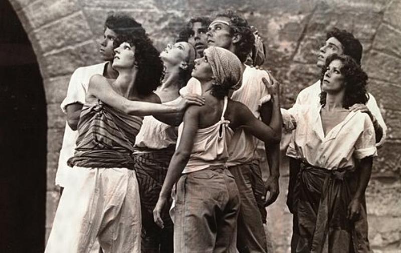 Chant (1980); photo by Guy Delahaye