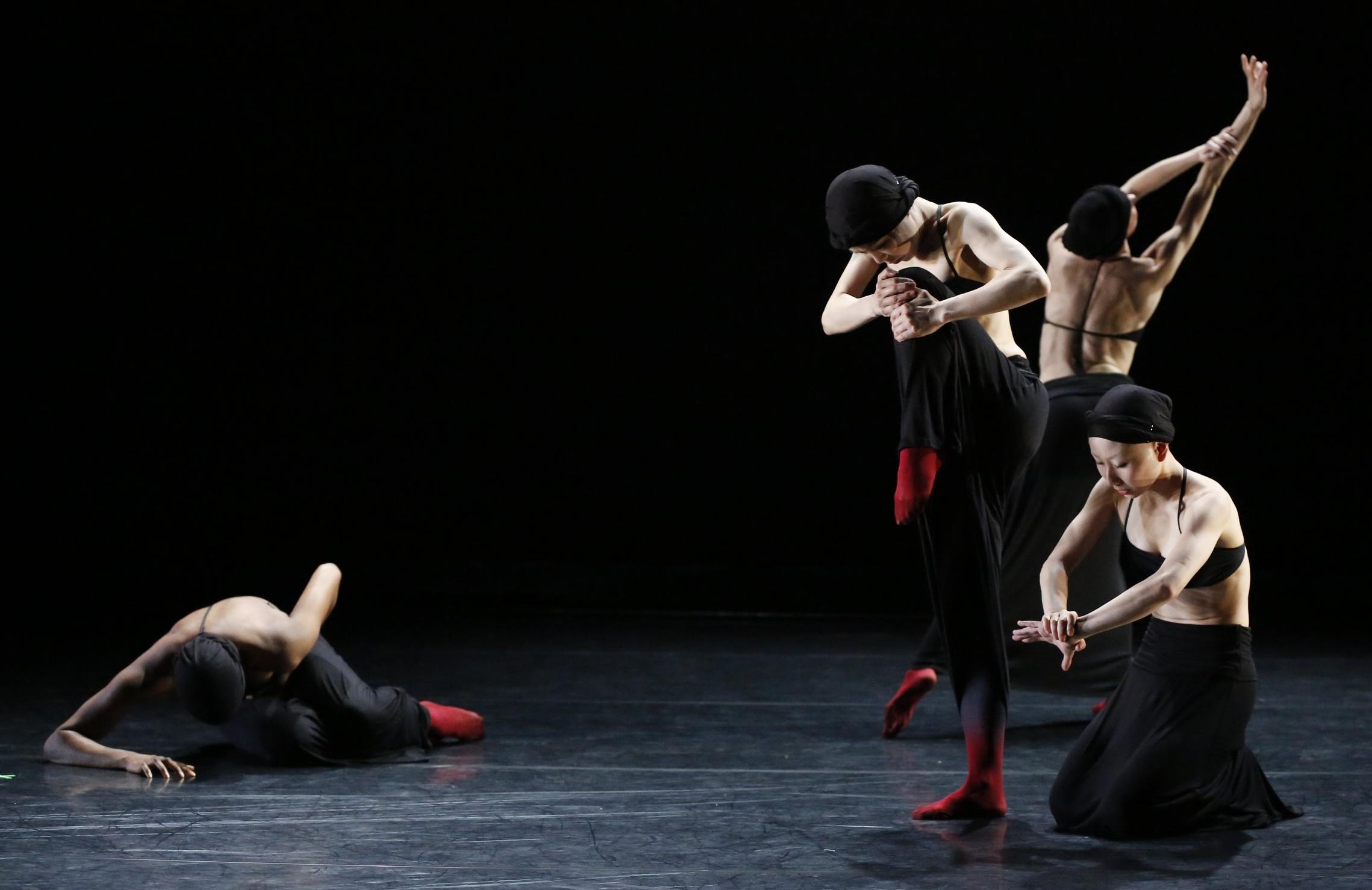 Miserere Nobis (2014) at New York Lives Arts; photo by Carol Rosegg.