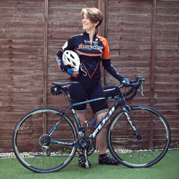 Claire Black divorce coach cycling