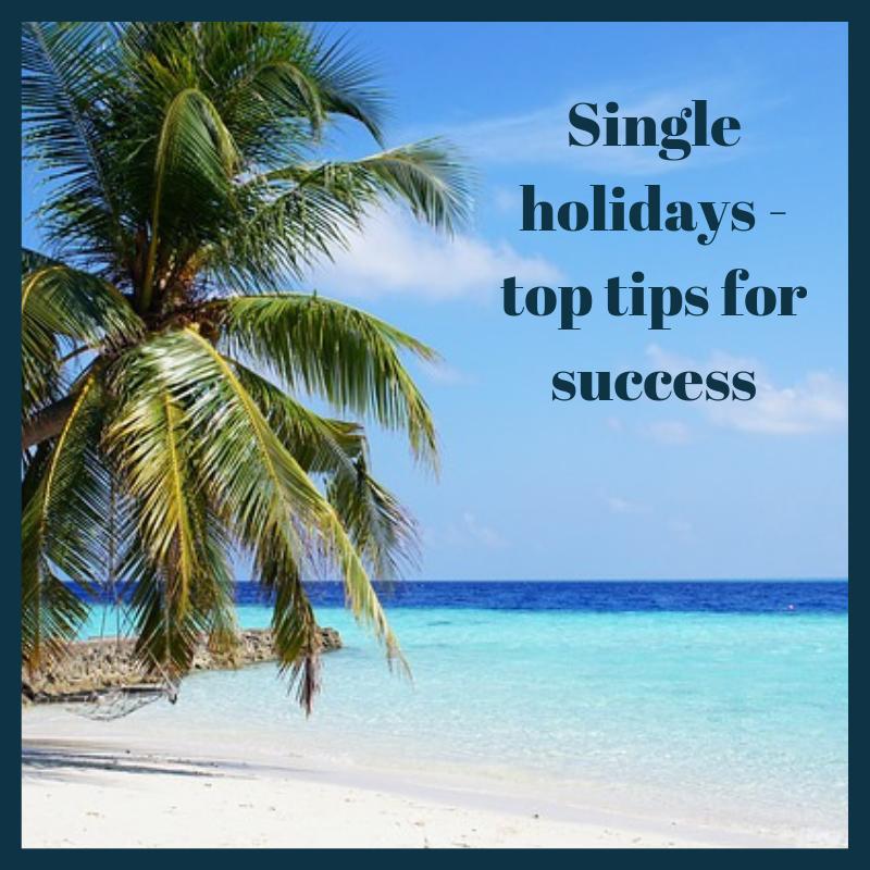 Successful single holiday tips - Group Hug blog