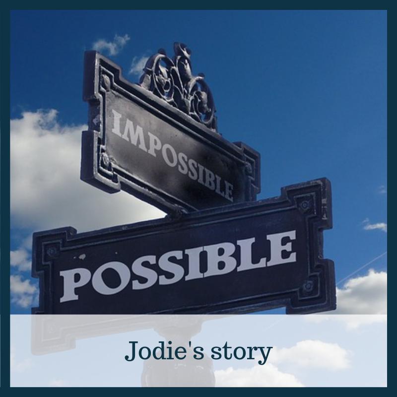 Jodie's divorce story