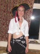 A very skinny me, in September 2008 - 6 months into my separation