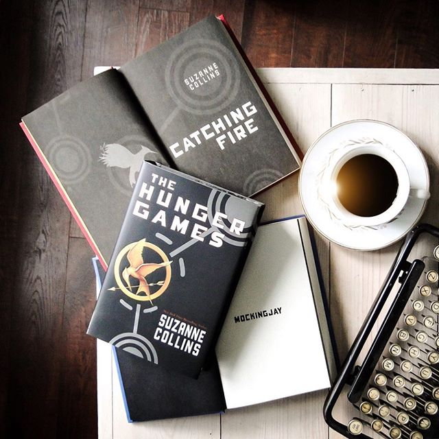 """Waiting on this prequel like...⠀ .⠀ .⠀ .⠀ ...""""Let's skip back to the Dark Days, thanks!"""" So here for it (only 10 months to go)... ⠀ *******************************************⠀ #hungergames #scholastic #coffee #coffeelover #writer #author #amwriting #amrevising #writersofig #writingcommunity #professor #proflife #book #books #booklover #bibliophile #read #reader #amreading #bookstagram #bookstagrammer #shelfie #instareads #thebookstagram #igreads #bookstagramfeatures #bookstagramflatlay #booksandbeans #culturetripbooks"""