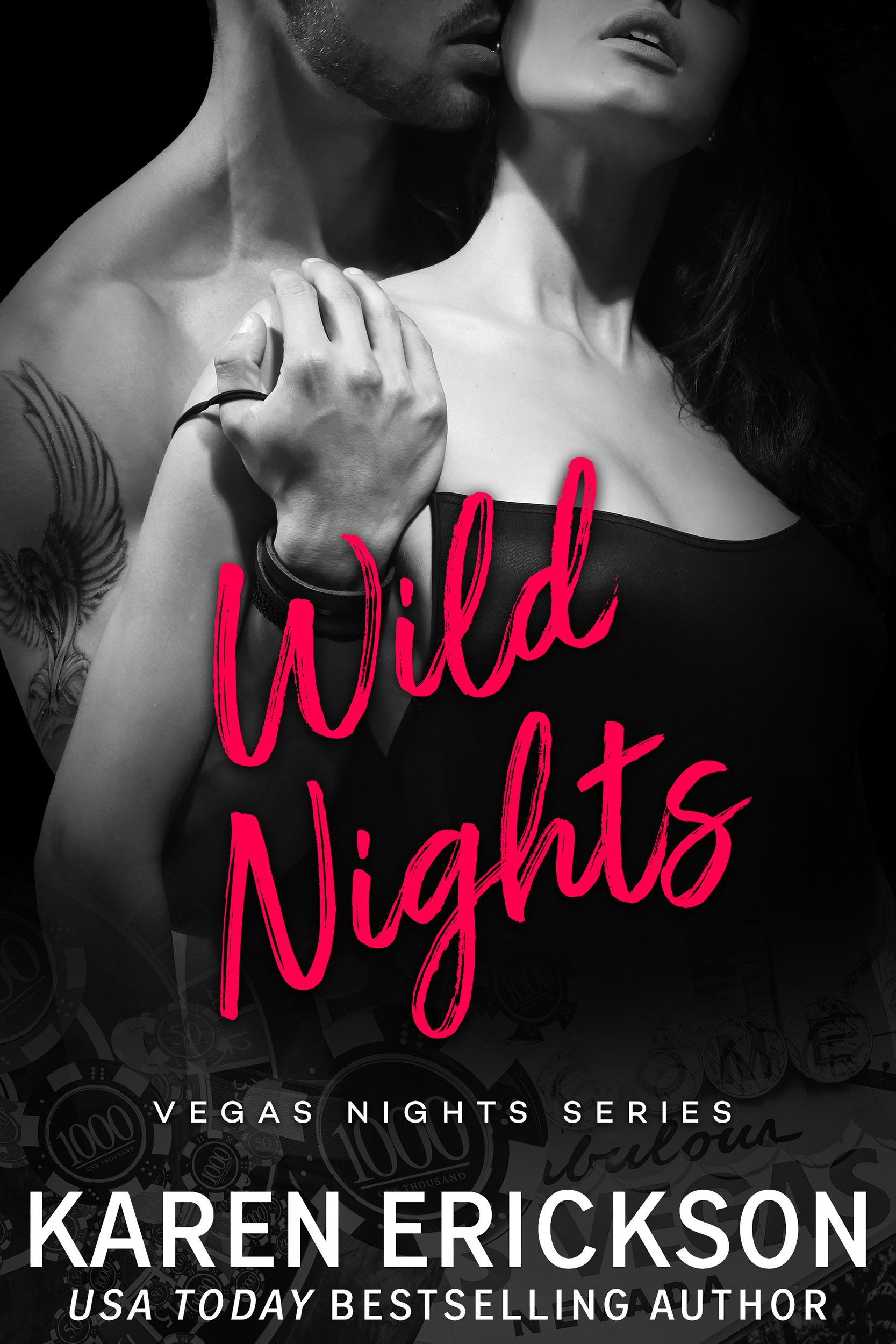 Wild Nights - Vegas Nights, Book 3AMAZON • B&N • IBOOKS • KOBO • GOOGLEPLAYThere are no limits in Vegas…Natalie's girls-weekend went bust as soon as her friends walked into the party.Running into a rock star—literally—might just be exactly what she needs to have a little fun of her own. Her drink's dripping down his chest, and it's all she can do resist licking it off.Noah Wilde doesn't believe in resisting urges. Not the one he has for the blue-eyed bombshell in front of him, cleaning him up. Not the one where the two of them ditch the party for an all-night adventure. And definitely not the one that has them testing out the very definition of Sin City.Until the sun rises, and resisting seems like the honorable choice. It could be over. Or it could be just the beginning.It's last call.