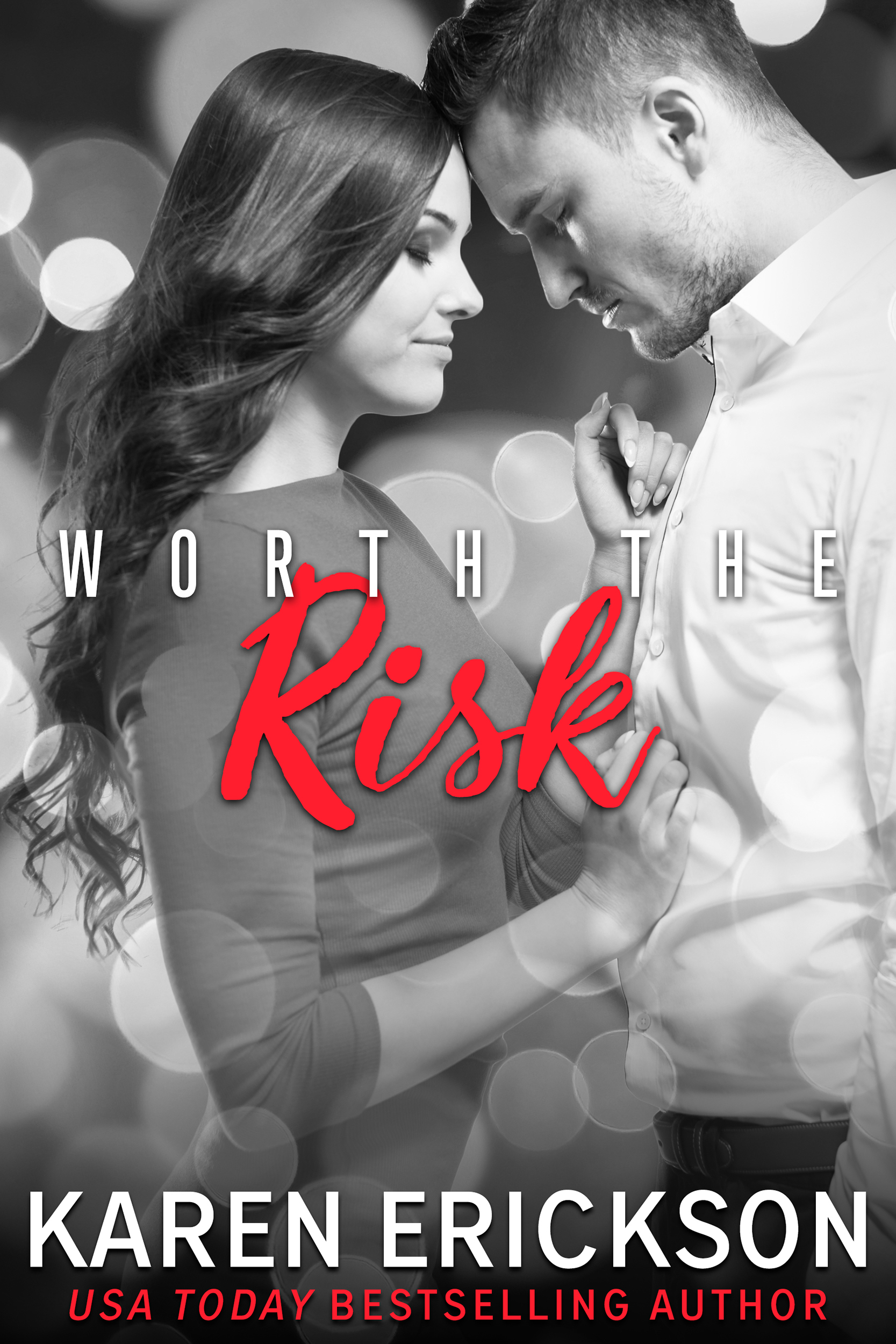 Worth The Risk - Worth It, Book 2Amazon •B&N •iBooks •Kobo •GooglePlayIf you can't take the risk, you'll have to settle for ordinary.Hunter Worth believes in walking his talk. As vice president and head of brand marketing for Worth Luxury Goods, he knows how to recognize the best when sees it. And right now, his sights are set on the most gorgeous woman on his marketing team.Gracie Hayes needs her job at Worth. Hunter's on-point seduction skills are not going to compromise everything she's worked for. After surviving a rough childhood, she also knows what she's seeing—and her boss may be charming, but he's also ruthless.Her temptation grows with every flirtation, every stolen kiss—and she can't deny that the sex is scorching. But that's all it will ever be, no matter what he promises. Gracie is too strong, too independent to fall for him.He didn't count on being the one to fall hard.Amazon •B&N •iBooks •Kobo •GooglePlay