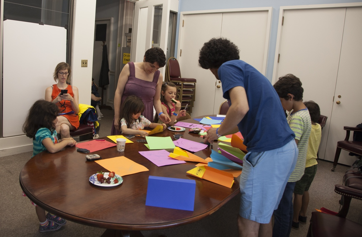 - Brooklyn Borough Hall, Children room Saturday June 17, 2017