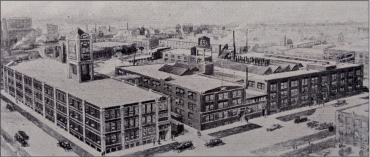 Seng Factory. 1440 North Dayton - lower left - includes the distinctive water tower.