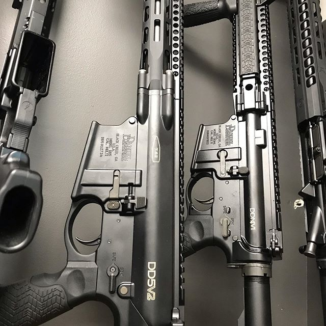 We've got a couple of nice Daniel Defense rifles in the Used Case.  Stop in and check out all the great deals.