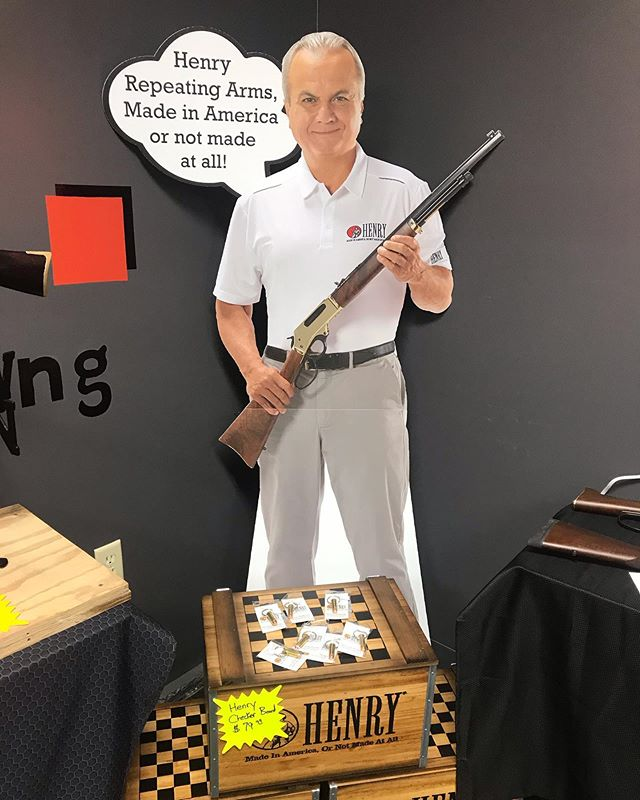 The Henry Event Starts Today!!!! Free Shooting, Free Food and Big Sales! Fri-Sun 10-6 #henryrepeatingarms #henrybigboy #freeshooting #madeinamerica #secondamendment #freedom #greatestcountry #usa