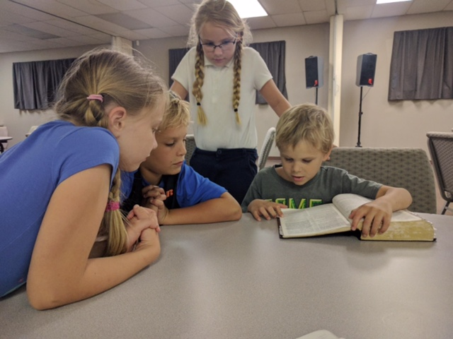 THe kids ministry -