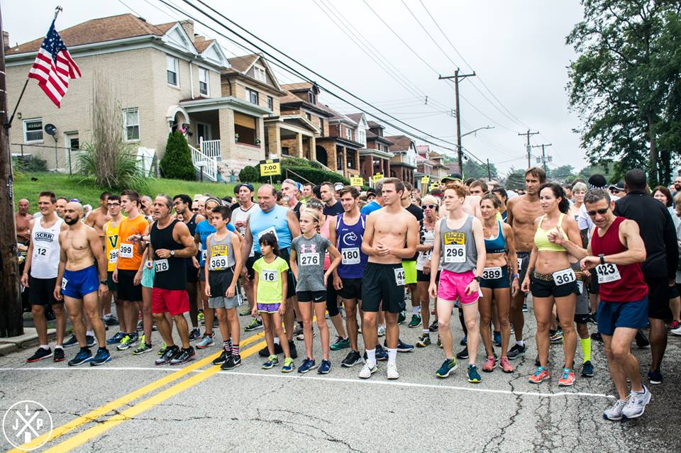 Start Line - 2018 Brookline Breeze