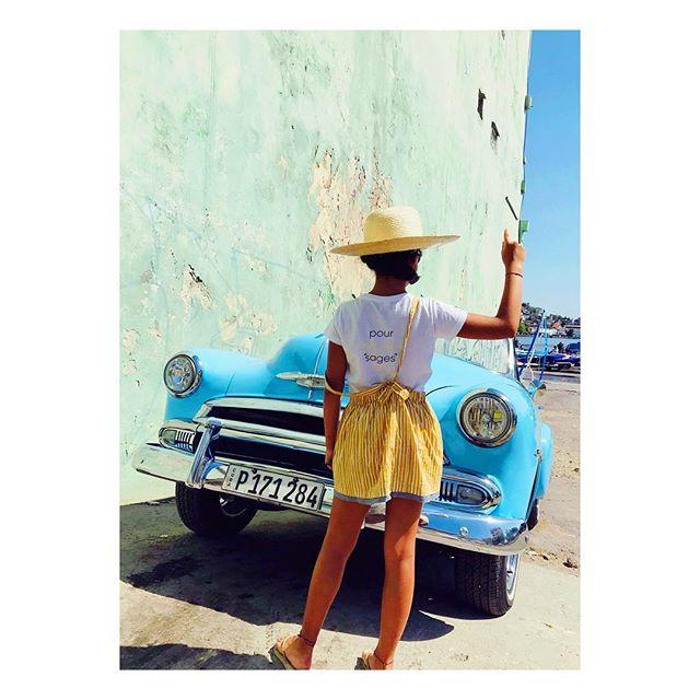 Sun is shining ! ☀️ . «Pour enfants sages ou pas» 😉 . De Paris à Cuba ... ✈️ . Made in France 🇫🇷 . . . . . #fabricationfrancaise#madeinfrance#pourenfantssagesoupas#kids#kidz#kidslook#kidslookbook#lookdujour#instalook#kidsbrand#fashionkids#fashionkidz#kidsfashion#kidzfashion#enfant#dungarees#salopette#addict#limitededition#kidsdress#robe#bretelles#french#serielimitee#paris