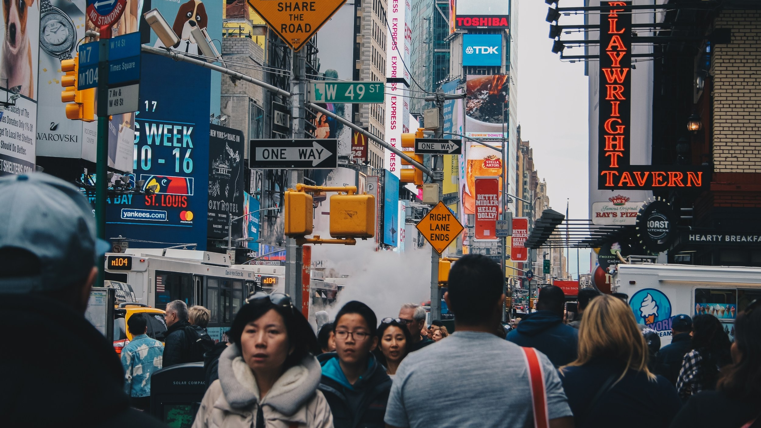 We thought we knew what it would be like to buy something from a NYC counterfeiter. We were wrong. // Image: Asel Peña / Unsplash