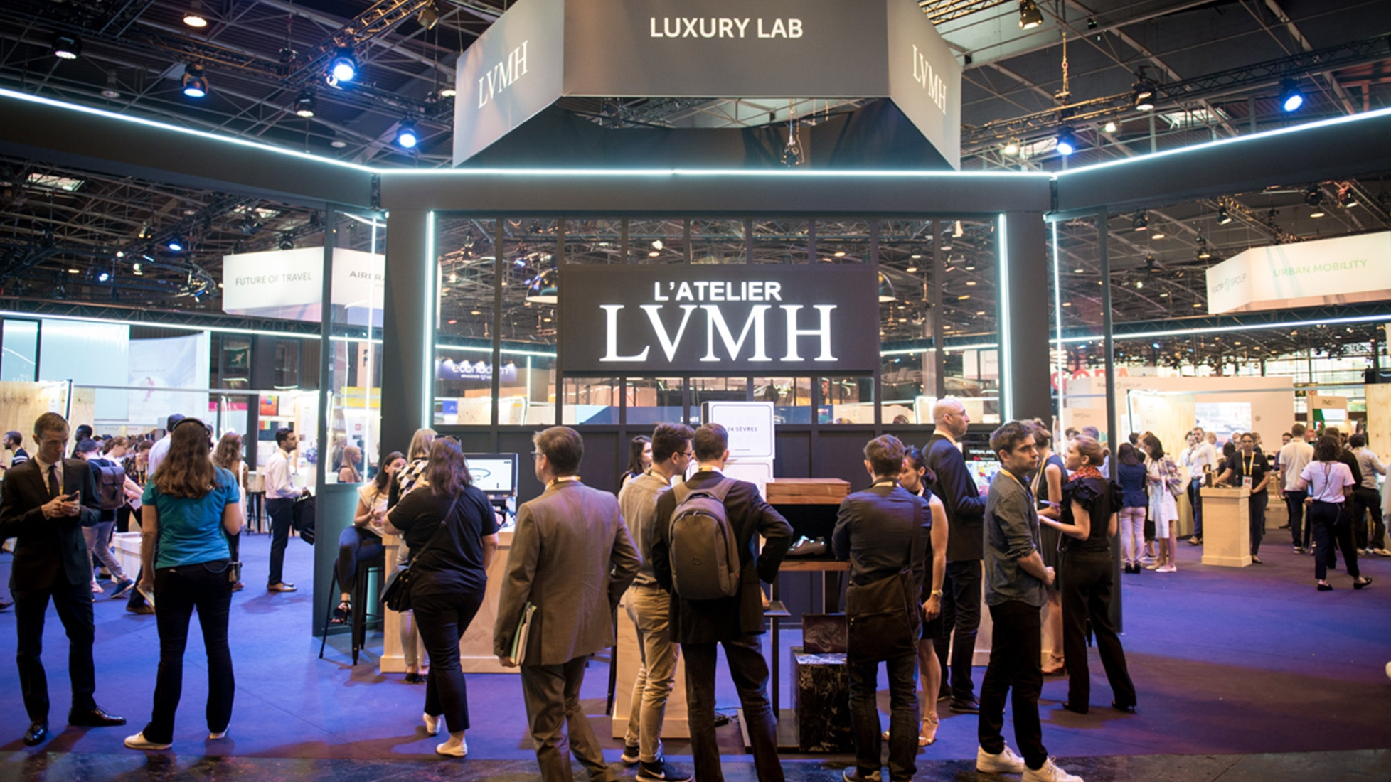 Our look back at attending the Viva Technology conference in Paris as a part of the LVMH Luxury Lab // Image: LVMH