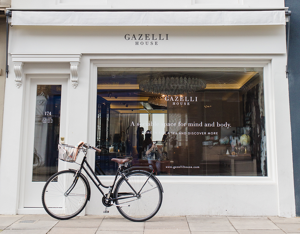 Gazelli House   Address:  174 Walton St, Chelsea, London SW3 2JL   Telephone:  +44 (0)20 7581 4355